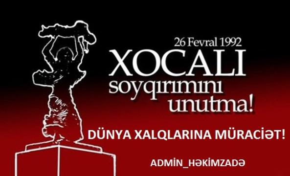 XOCALI FACİƏSİ